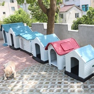 Large nest summer outdoor plastic kennel dog house cage house dog cage dog cage cat litter Four Seasons
