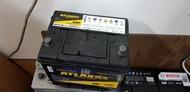 (二手中古電池) 黃霸 ATLASBX 75D23L-SMF 免保養汽車電池 數值漂亮,品項優