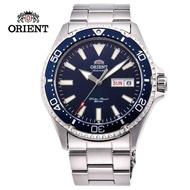 【ORIENT 東方錶】ORIENT 東方錶 WATER RESISTANT系列 200m水鬼潛水錶 鋼帶款 藍水鬼 - 41.8mm(RA-AA0002L)