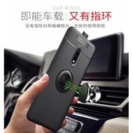 OPPO Realme XT 手機殼 保護套 磁吸車用指環扣支架