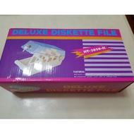 ♡全新商品♡3.5磁片收納盒 附鎖