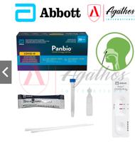 New stock - Sep 2022! Abbott Panbio Covid-19 Antigen Rapid Self-Test Kit 20x Test Kits Per Box