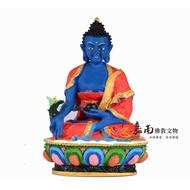 【嘉南佛教文物】【波麗佛像-藏密式藥師佛菩薩】