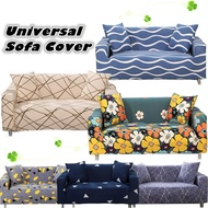Universal Multi-Size Elastic Sofa Cover Cushion Pillow Cover 1234 Seater Sofa  L Shaped Sofa Cover