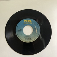 "ROCKSTAR Krisinata/ Parting Time OPM 7"" 45 RPM Records RARE Plaka Vinyl Rare"