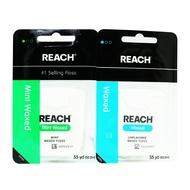 REACH 麗奇 潔牙線含蠟無味50M / REACH麗奇潔牙線含蠟薄荷50M