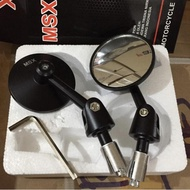 ・➢ Convex Mirror bar end Rearview Mirror (Newest)