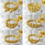 สร้อยข้อมือ 2บาท สร้อยข้อมือทองไมครอน ทองโคลนนิ่ง ทองหุ้ม ทองชุบ