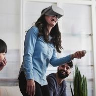 VR眼鏡 小米VR一體機 Oculus Go虛擬現實眼鏡設備rift 蘋果安卓  DF