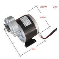 12V 24V250W Brush DC Gear Motor LINGYING MY1016Z Electric Bicycle Motor MTB Bike Ebike Brushed Motor Electric bike Accessories