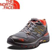 【The North Face 美國 女款 GTX 低筒健行鞋《灰/橘》】44FV/防水透氣/耐磨登山鞋/越野/悠遊山水