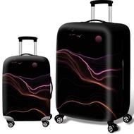 Johnn กระเป๋าป้องกัน 18-20-22-24-26-28-30-32 กรณีกระเป๋ายางยืดกรณีรถเข็นเดินทางฝุ่นปกป้องกัน [พร้อมสต็อก-คุณภาพสูง]