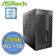 華擎DeskMini310平台【暴虐戰斧】i7八核 SSD 1TB迷你電腦