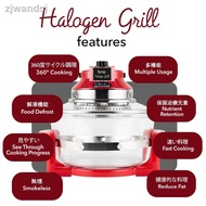 ▲Iona GLTB112 - 12L Halogen Grill Oven Cooks 3x faster than oven.