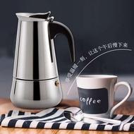 มาแรง!!! ขายดีหม้อ moka อิตาลี, หม้อกาแฟทำมือ, สแตนเลสที่ใช้ในครัวเรือนหม้อกาแฟ moka อิตาลี, อุปกรณ์ชงกาแฟเครื่องชงกาแฟของคนรักกาแฟ