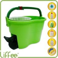 【 Liffee 】超省力! 多功能腳踏式脫水桶 (單桶)