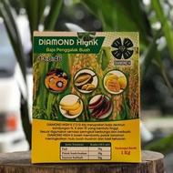 Diamond HighK 13:0:46 -- Baja Penggalak Buah - 1kg (Padi/Sawit/Mangga/Durian/Tanaman Berbuah)