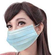 台灣康匠-三層不織布口罩200個/4盒(藍色)