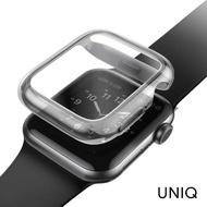 【UNIQ】Apple Watch Series 6/SE/5/4 40mm Garde全包覆輕薄透明防撞保護框(Apple Watch Series 4/5/6)