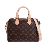 LV M41113 經典Monogram SPEEDY25肩背/手提波士頓二用包