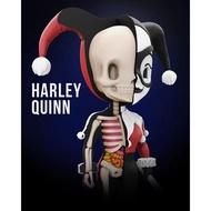 4D XXRAY小丑女 哈利奎恩Mighty Jaxx Jason Freeny 解剖卡通擺件