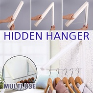 [HICKIES] Hidden Hanger / wall mount Mini / hidden retractable rack / Multi bathroom