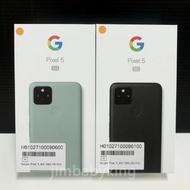 全新未拆 Google Pixel 5 5G 128G 6吋 純粹黑 灰綠色 無線充電 台灣公司貨 保固一年 高雄可面交