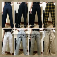 MIXED PANTS (TROUSERS, CARGO, PALAZZO)  THRIFT UKAY FROM BALE