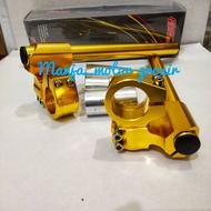 fastbikes - stang jepit model DKT/ninja R.RR/satria fu/sonic150/cbr150 cb150 new old/vixion new old