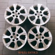 三重 近國道 ~佳林輪胎~ 中古 二手 原廠鋁圈 16吋 6.5J 5/114.3 5孔 Toyota Camry