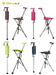 TA-Da Chair Cane  泰達椅 自動手杖椅(經典黑、咖啡棕、萊姆綠、玫瑰紅、皇家金)-100Kg