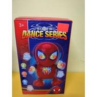 聲光音樂 蜘蛛人公仔 會跳舞的鋼鐵人 離家日 蜘蛛人 復仇者聯盟 生日禮物 電動蜘蛛人 發光蜘蛛人
