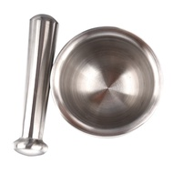 Mortar and Pestle (Stainless Steel)