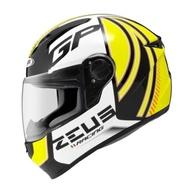 ZEUS 瑞獅 ZS-811 ZS811 AL2 黑/黃 全罩 安全帽