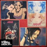 ins超火~NANA娜娜 矢澤愛日本漫畫牛皮紙海報裝飾畫酒吧照片相框墻貼紙