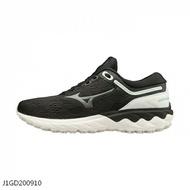 Mizuno Wave Skyrise [J1GD200910] 女鞋 運動 休閒 慢跑 透氣 舒適 緩衝 美津濃 黑白