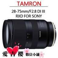 TAMRON 28-75mm F2.8 DiIII RXD A036 FOR Sony E 免運 全新 公司貨 現貨