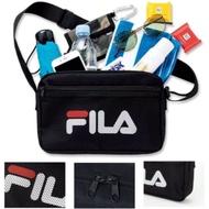 🔥現貨🔥日本雜誌e-mook附錄 FILA 側背包 斜背包 收納包 外出包 萬用包