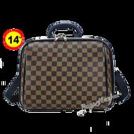 Sun POLO กระเป๋าสะพาย กระเป๋าถือ กระเป๋าเดินทาง กระเป๋าแฟชั่น กระเป๋าใส่เครื่องสำอาง ขนาด 14 นิ้ว มินิ สไตล์หลุยส์