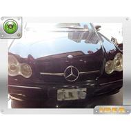DJD Y0436 BENZ W203 AMG C63一線大星亮黑色水箱罩