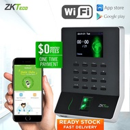 ZKTeco WL20 Fingerprint Attendance Machine Time Attendance Time Recorder Clock Office Supplies SSR Attendance Report