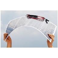 太陽光電㊕50W 半柔性太陽能電池板 單晶矽太陽能充電板