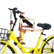 自行車兒童座椅 鋁合金自行車兒童座椅前置便攜折疊單車寶寶安全座椅快拆小孩座椅『CM38387』