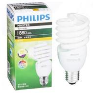 Philips 飛利浦 T2 螺旋省電燈泡25W黃光【愛買】