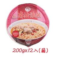 [免運]TTL台酒麻油雞碗麵200gx12入/箱