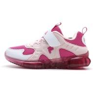 FILA【7J853U515】運動慢跑鞋 小童鞋 中童鞋 電燈鞋 黏帶 桃粉色