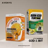 [Shop Malaysia] AVENYS Vitalicia Burn Iced Tea (BIT) / Orange Juice Detox (OJD)