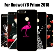 Huawei Y6 Prime 2018 Case Patterned Soft Back Cover For Huawei Y6 Prime 2018