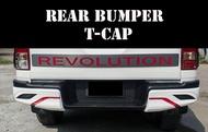 REAR BUMPER ครอบกันชนท้าย REVO 2015-2017 สำหรับ รถสูง สีดำด้าน ดำเงา หรือสีตามรูป
