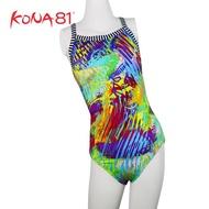 美國 拓芬 DOLFIN 女童 運動 連身 泳裝 Fantasia--兒童款 彩虹 廠商直送 現貨